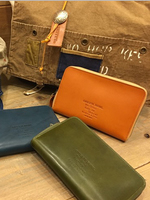 GREEN BOWL Leather Wide Wallet/レザーワイドウォレット