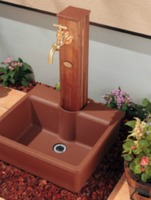 【KAKUDAI624-901】水栓柱パン(円柱用)