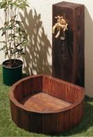 【KAKUDAI624-915】水栓柱パン(木目調)