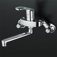 【KVK KM5000T】壁付シングルレバー混合水栓