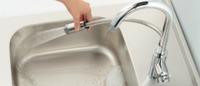 【KAKUDAI 117-132】シングルレバー混合水栓(シャワー付)