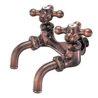 【KAKUDAI7050FBP-13】双口ホーム水栓(ブロンズ)
