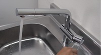 【KAKUDAI 117-028】シングルレバー混合水栓