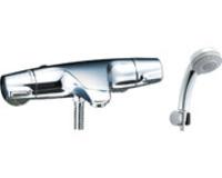 【LIXIL BF-J147TSB】壁付サーモスタット混合水栓