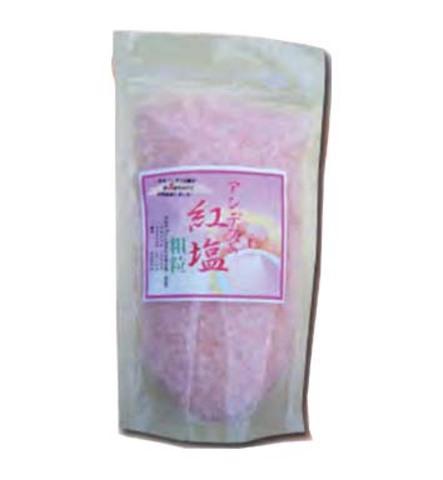 アンデスの紅塩粗粒(200g) PP袋入