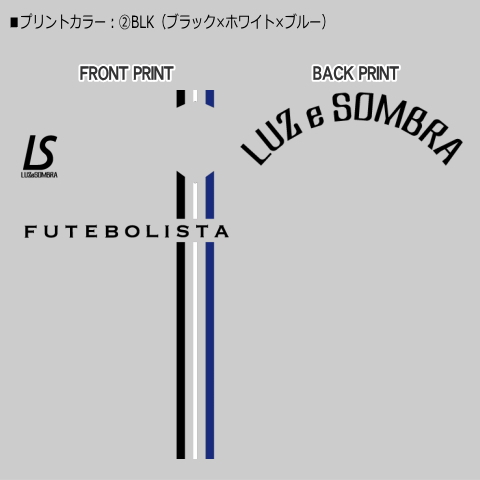 【TEAM ORDER専用】ルースイソンブラ/DS別注カラー RHYTHM  LINE PRA-SHIRT
