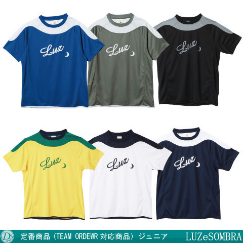 【TEAM ORDER対応】ルースイソンブラ/ Jr SIMPLE LINE PRA-SHIRT