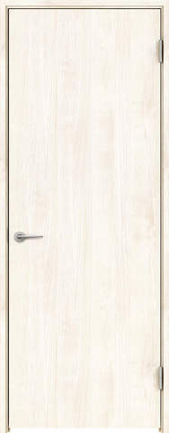 開きドア 枠外寸法、高さ2028×幅778 枠幅95 レバーハンドル付き スキスムS フラットデザイン 右吊り元 WH色 永大産業