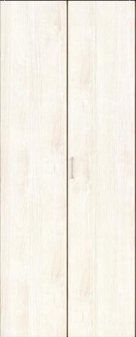 クローゼット【枠外寸法、高さ2028×幅727】【取っ手付き】アーバンモードα 縦木目 扉WH色 枠WB色 EIDAI