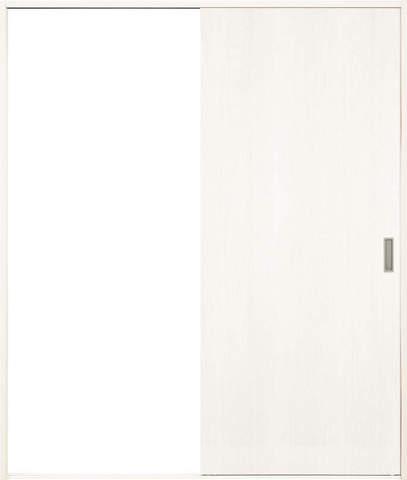 引き戸【枠外寸法、高さ2040×幅1645】【枠幅154】【フラッターレール付き】 アーバンモードα フラットデザイン 左右兼用 WB色 EIDAI