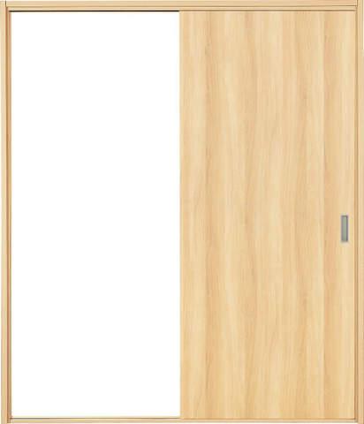 引き戸【枠外寸法、高さ1812×幅1732】【枠幅95】【フラッターレール付き】 アーバンモードα フラットデザイン 左右兼用 LN色 EIDAI特注品