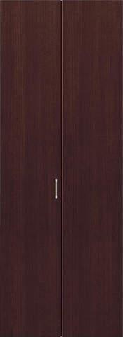 クローゼット【枠外寸法、高さ2028×幅727】【取っ手付き】アーバンモードα 縦木目 DW色 EIDAI