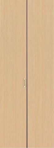 クローゼット【枠外寸法、高さ2028×幅727】【取っ手付き】アーバンモードα 縦木目 LN色 EIDAI