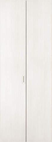 クローゼット【枠外寸法、高さ2288×幅727】【取っ手付き】アーバンモードα 縦木目 WB色 EIDAI