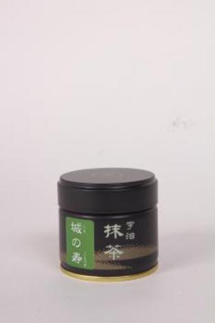 抹茶(城の寿)30g缶入