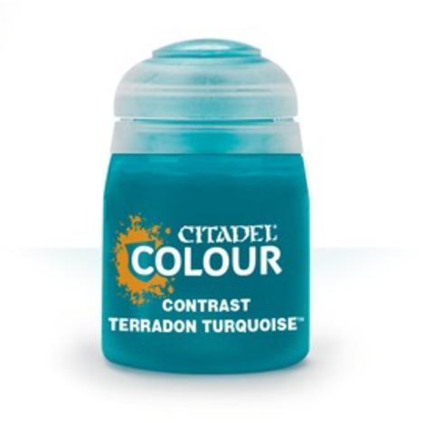 CONTRAST: TERRADON TURQUOISE (18ML) 6PK