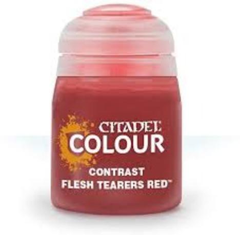 CONTRAST: FLESH TEARERS RED (18ML) (6PK)