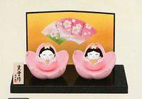コンパクトで可愛い陶器の雛人形 通販 特価