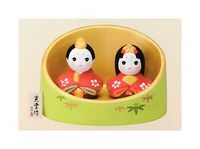 コンパクトで可愛い陶器の雛人形 通販 特価 にしだあつこ