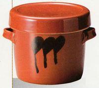 味噌・梅干しなどの保存容器に重ね置きが出来て持ち手が付いている便利な陶器のかめ 特価で通販<FONT size=