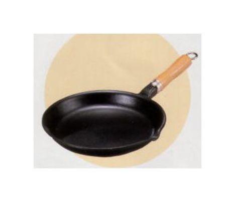 南部鉄器 フライパン木柄付 鉄鍋 特価 通販