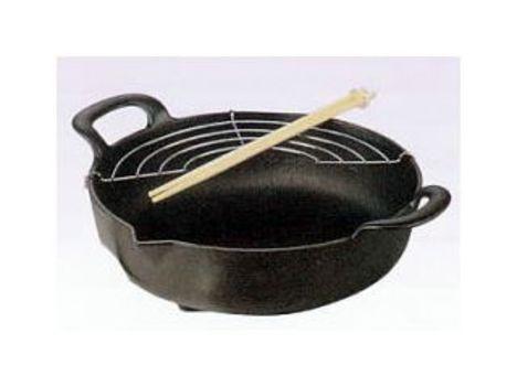 南部鉄 天ぷら鍋丸型 鉄鍋 特価 通販