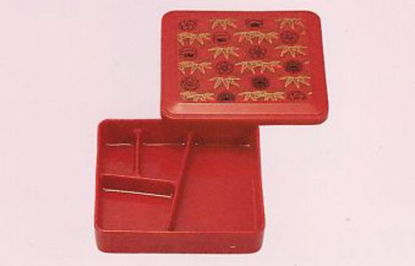 業務用弁当箱 仕切り付き 小サイズ