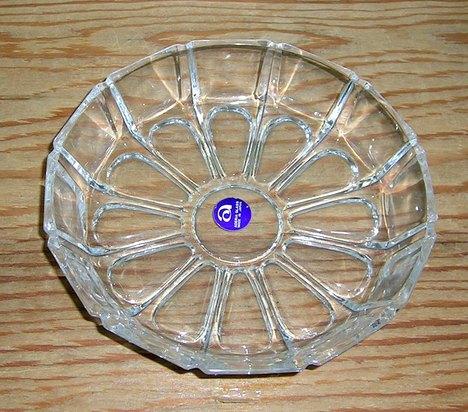 昭和レトロ アデリアガラス小皿