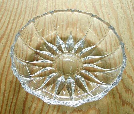 RG125801.昭和レトロ ガラス小皿【通販 ガラス食器】山口陶器店