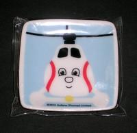 きかんしゃトーマス磁器製小皿 ハロルド