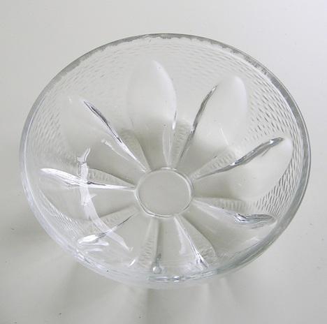 RG14010206.昭和レトロ 曽我ガラス 水蓮小鉢【通販 ガラス食器】山口陶器店