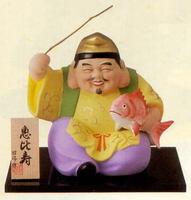 昭峰窯 七福神 恵比寿 特大