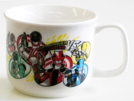 ルパンレンジャー陶器マグカップ