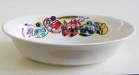 ルバンレンジャーVSバトレンジャー  磁器製カレー皿