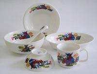 仮面ライダービルド 陶器の食器