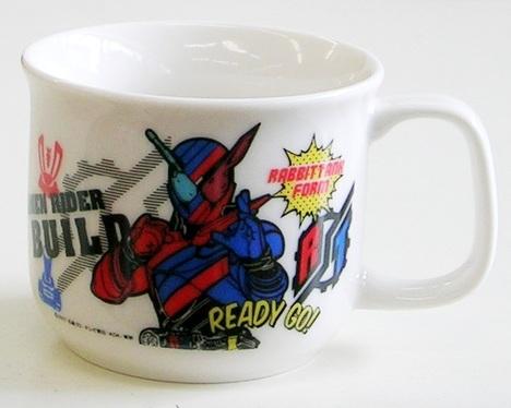 仮面ライダービルド陶器マグカップ
