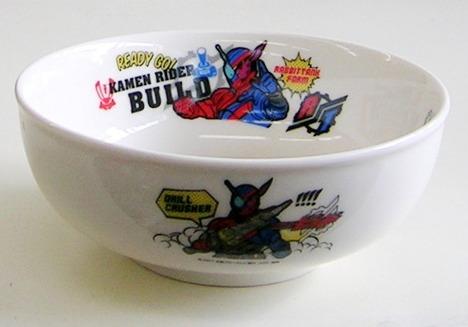 仮面ライダービルド磁器製ラーメン丼 特価で通販
