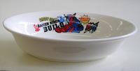 仮面ライダービルド磁器製楕円形カレー皿 特価で通販