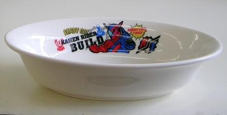 仮面ライダービルド陶器カレー皿