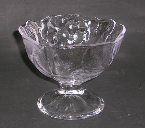 脚付きガラスデザートカップ 40%引きの激安
