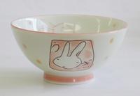 ウサギ和食器茶碗
