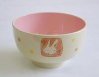 ウサギ和食器塗汁椀