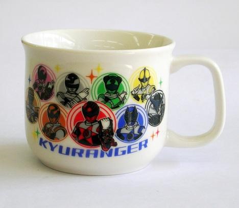 キュウレンジャー陶器の子供食器