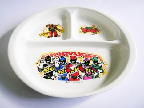 キョウリュウジャー陶器子供食器
