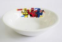 ゲキレンジャー陶器の子供食器