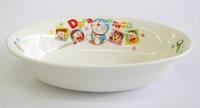 ドラえもん 陶器 楕円形カレー皿