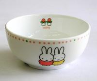 ミッフィー強化磁器ベビー食器の茶碗