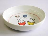 ミッフィー強化磁器ベビー食器の中皿