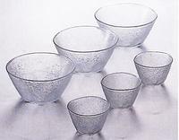 アデリア 流雅 ガラス製ソーメン鉢セット 激安通販