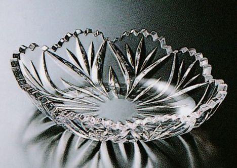 硝子刺身鉢